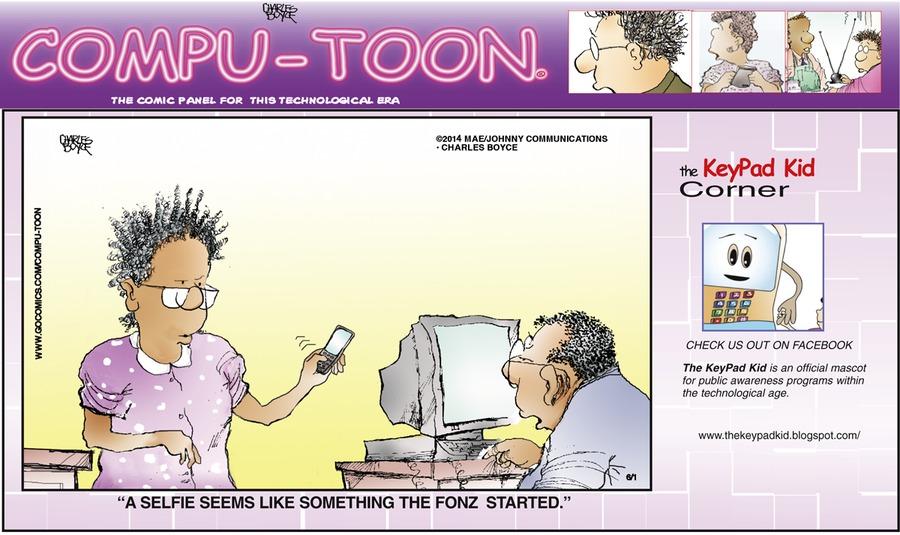 Compu-toon Comic Strip for June 01, 2014