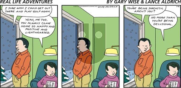 Real Life Adventures on Sunday January 6, 2013 Comic Strip