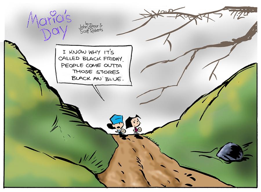 Maria's Day Comic Strip for November 20, 2016
