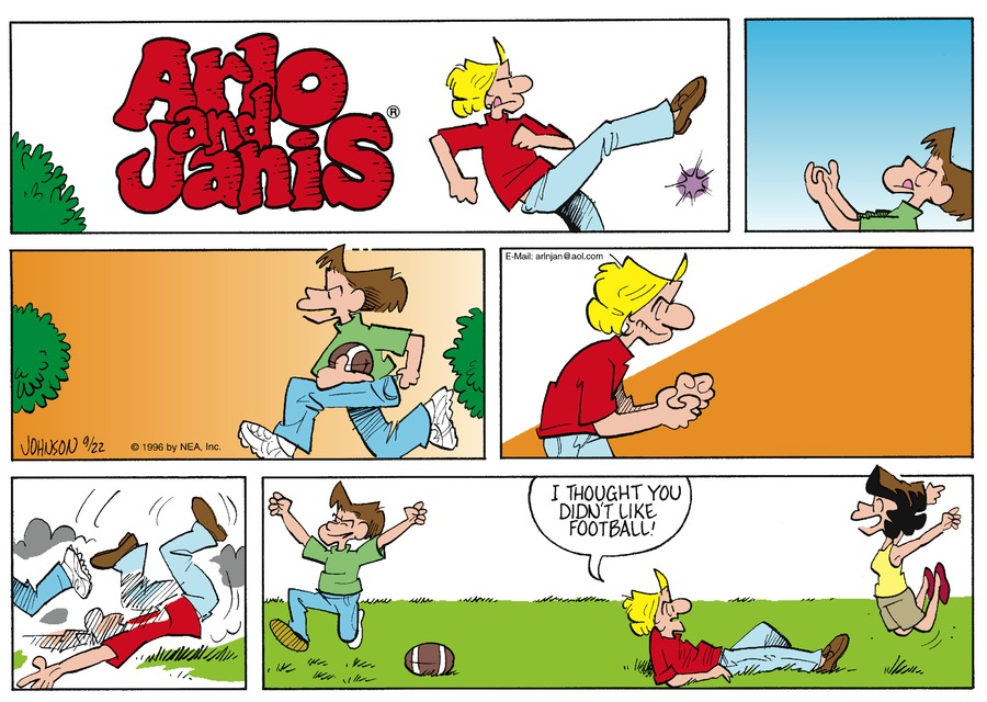 Arlo and Janis Comic Strip for September 22, 1996
