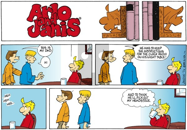 Arlo and Janis on Sunday November 14, 1999 Comic Strip