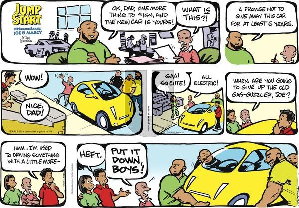 JumpStart - Sunday April 28, 2019 Comic Strip
