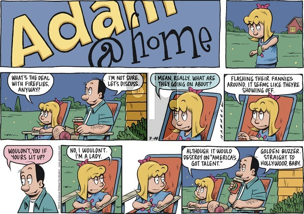Adam@Home on Sunday July 14, 2019 Comic Strip