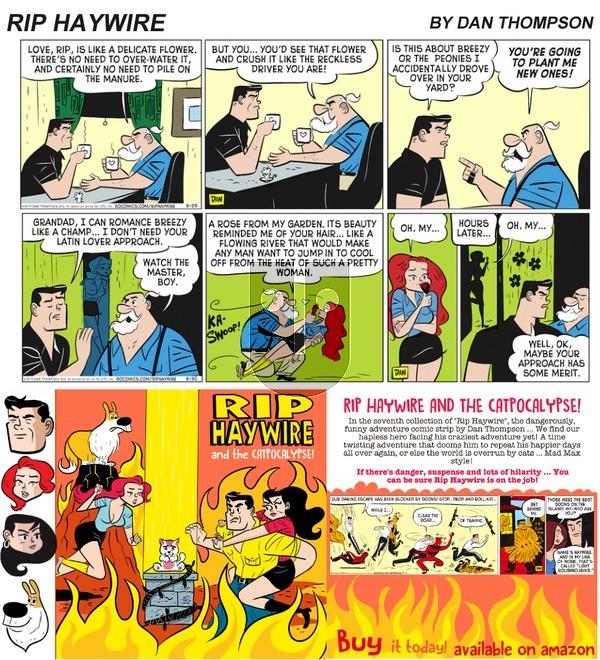Rip Haywire on Sunday September 24, 2017 Comic Strip