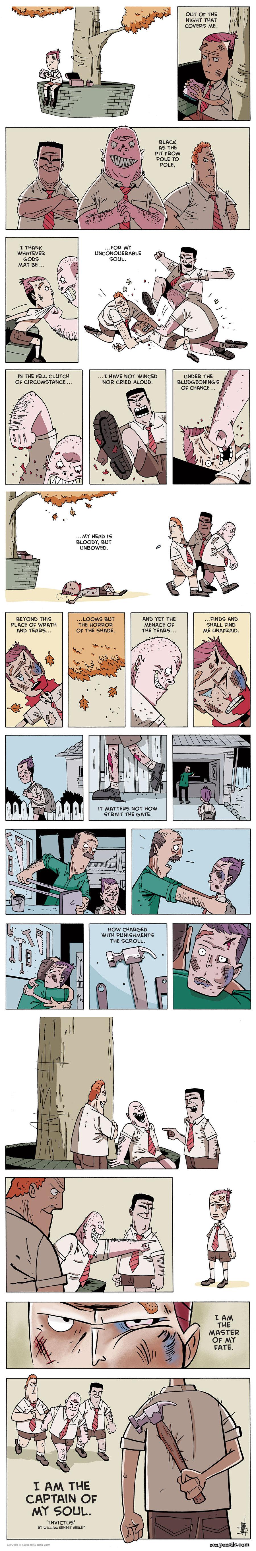 Zen Pencils for Aug 2, 2013 Comic Strip
