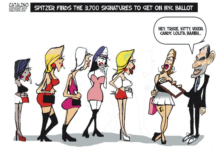 Ken Catalino for Jul 12, 2013 Comic Strip