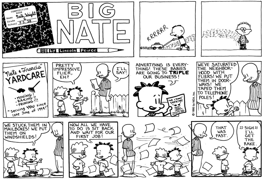 Big Nate: First Class by Lincoln Peirce on Sun, 21 Jun 2020