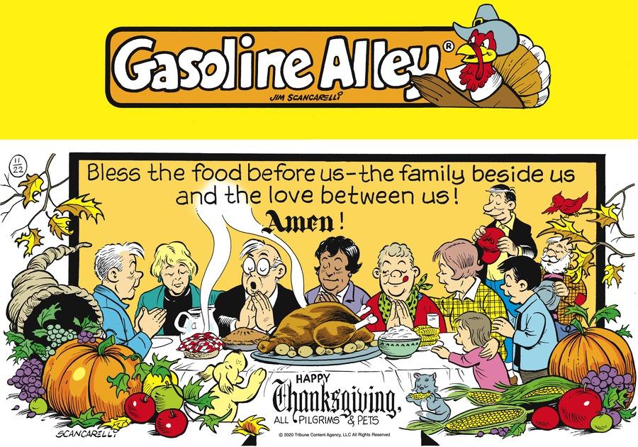 Gasoline Alley Comic Strip for November 22, 2020