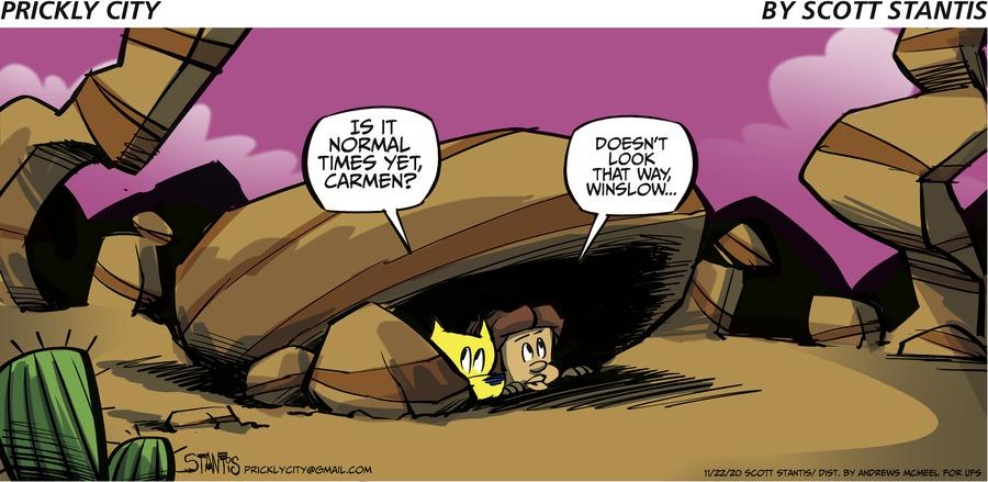 Prickly City Comic Strip for November 22, 2020
