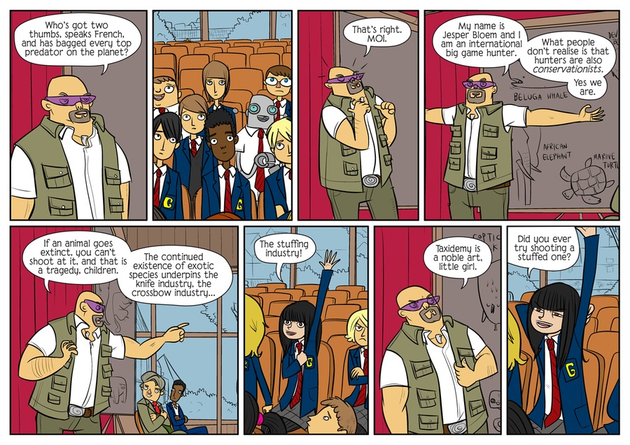 Bad Machinery by John Allison on Wed, 17 Feb 2021