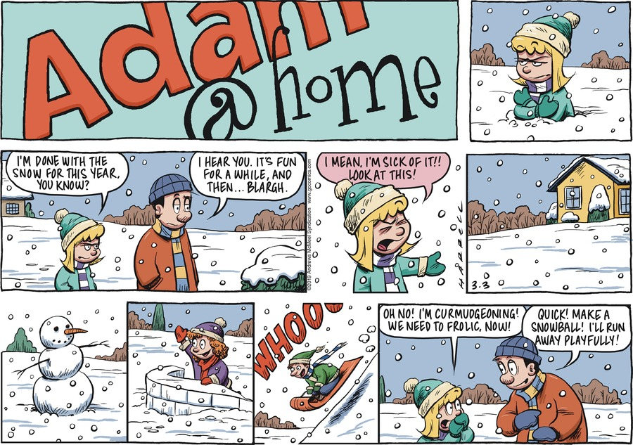 Adam@Home by Rob Harrell for March 03, 2019