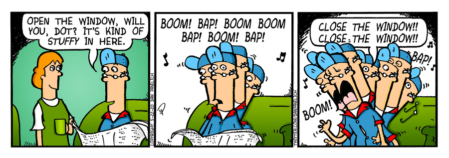 Just Say Uncle Comic Strip for May 23, 2020