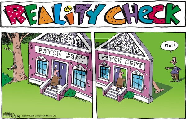 Reality Check on Sunday August 19, 2018 Comic Strip