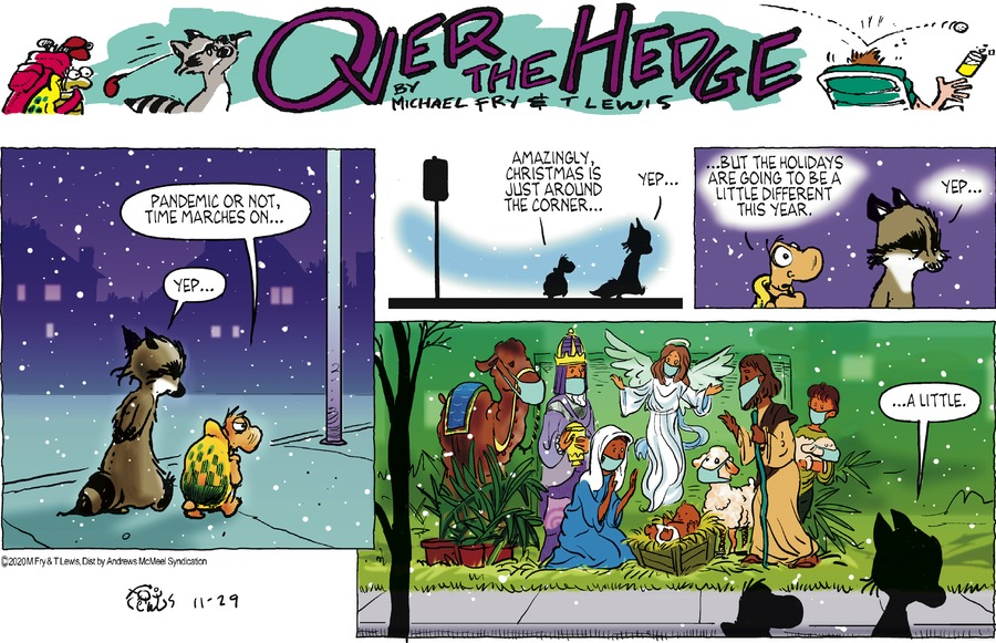 Over the Hedge Comic Strip for November 29, 2020