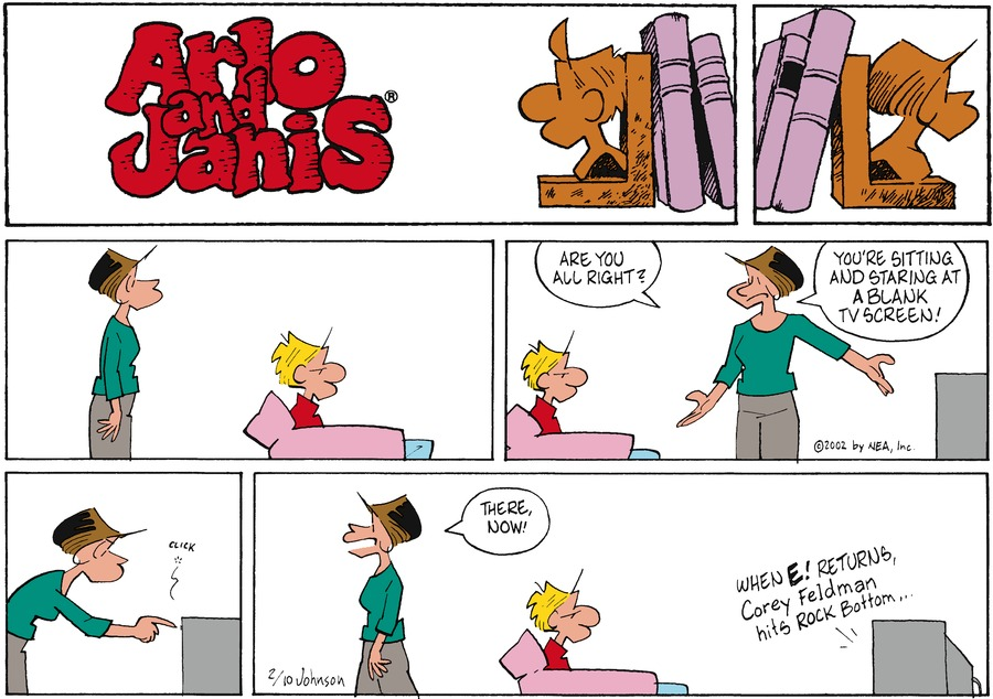 Arlo and Janis for Feb 10, 2002 Comic Strip