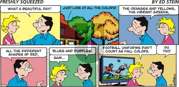Freshly Squeezed - Sunday October 20, 2019 Comic Strip