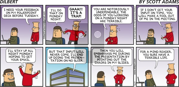 Dilbert on Sunday July 16, 2017 Comic Strip