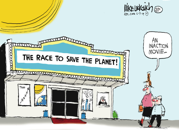 Mike Luckovich Comic Strip for May 07, 2019