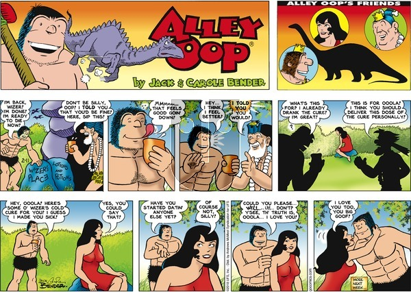 Alley Oop on Sunday February 11, 2018 Comic Strip