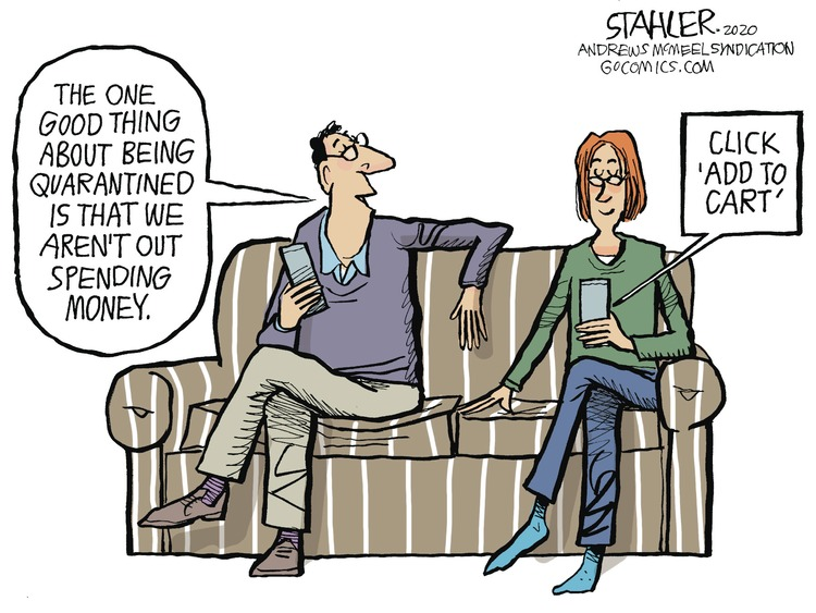 Jeff Stahler Comic Strip for March 29, 2020