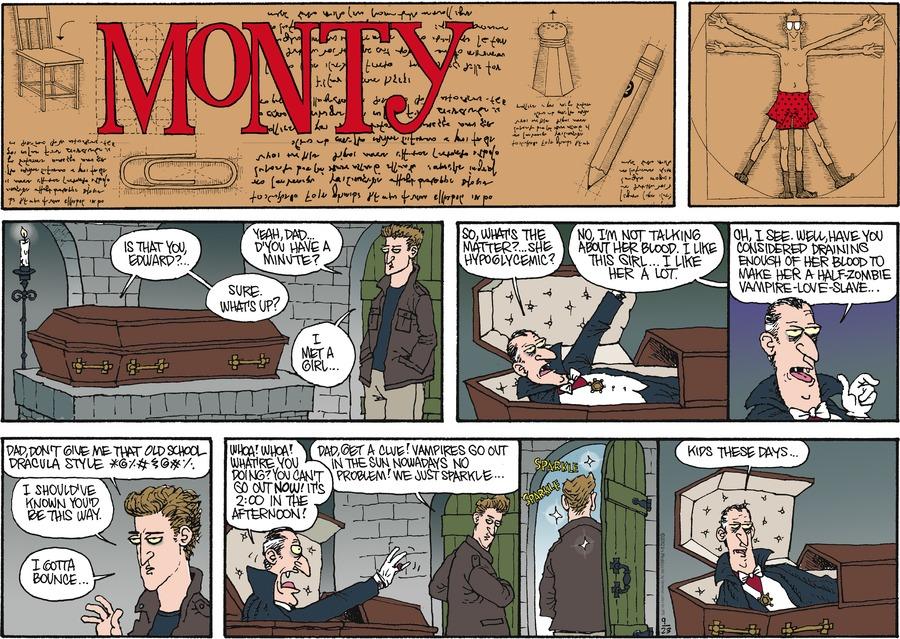 Monty for Sep 23, 2012 Comic Strip