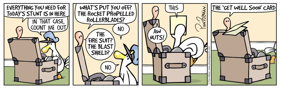 Ollie and Quentin Comic Strip for April 30, 2016