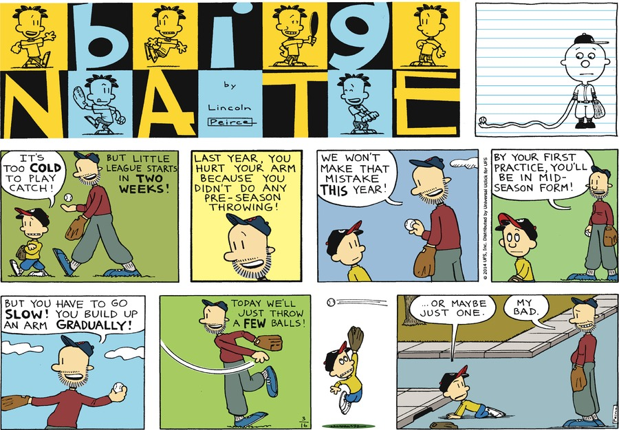 Big Nate Comic Strip for March 16, 2014