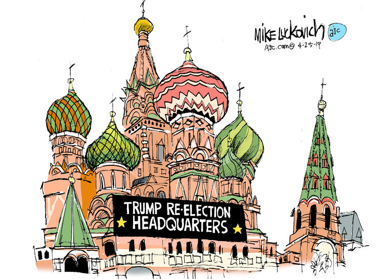Mike Luckovich Comic Strip for April 25, 2019