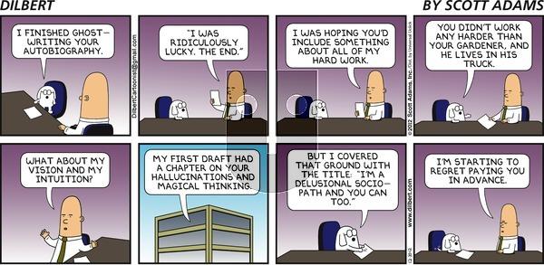 Dilbert on Sunday December 30, 2012 Comic Strip