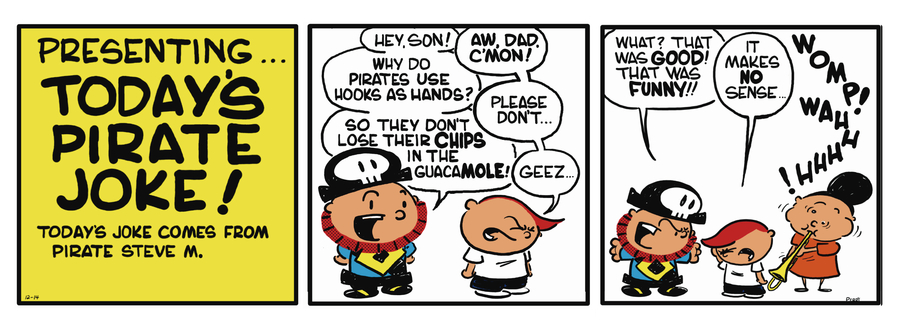 Pirate Mike Comic Strip for June 12, 2019