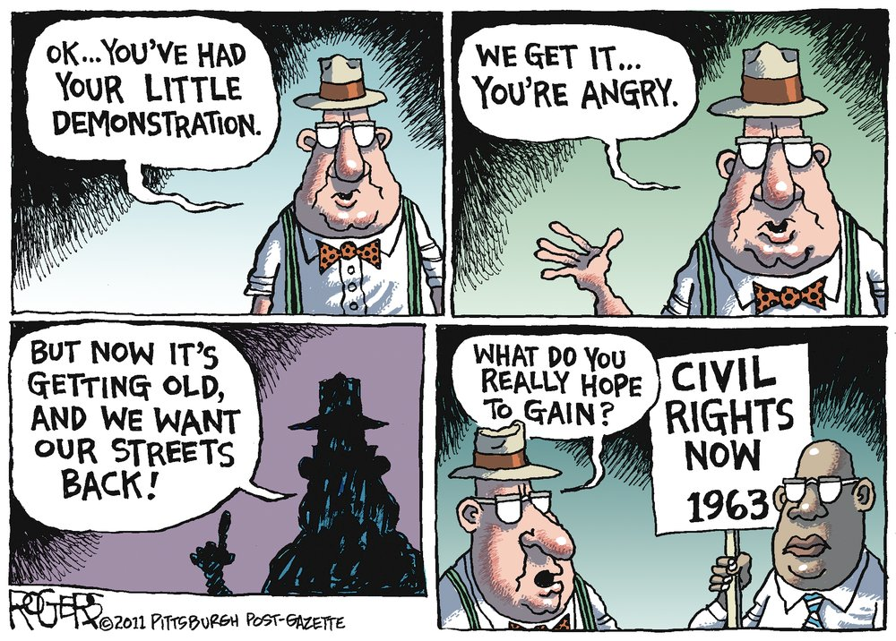 Rob Rogers for Oct 30, 2011 Comic Strip