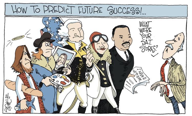 Signe Wilkinson Comic Strip for March 09, 2014
