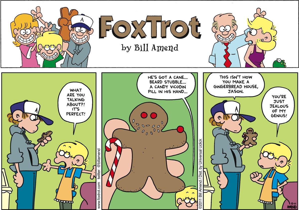 FoxTrot Comic Strip for December 11, 2011