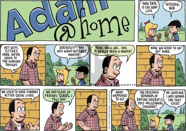 Adam@Home on Sunday August 13, 2017 Comic Strip