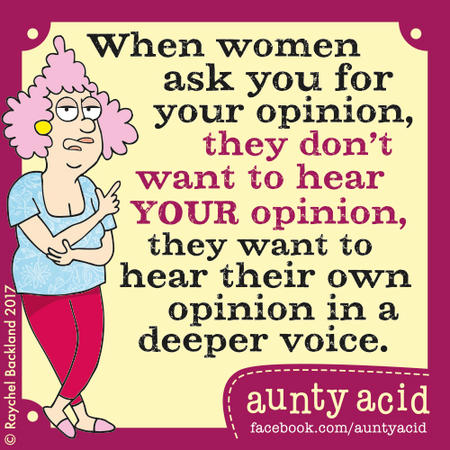 Aunty Acid for Aug 8, 2017 Comic Strip