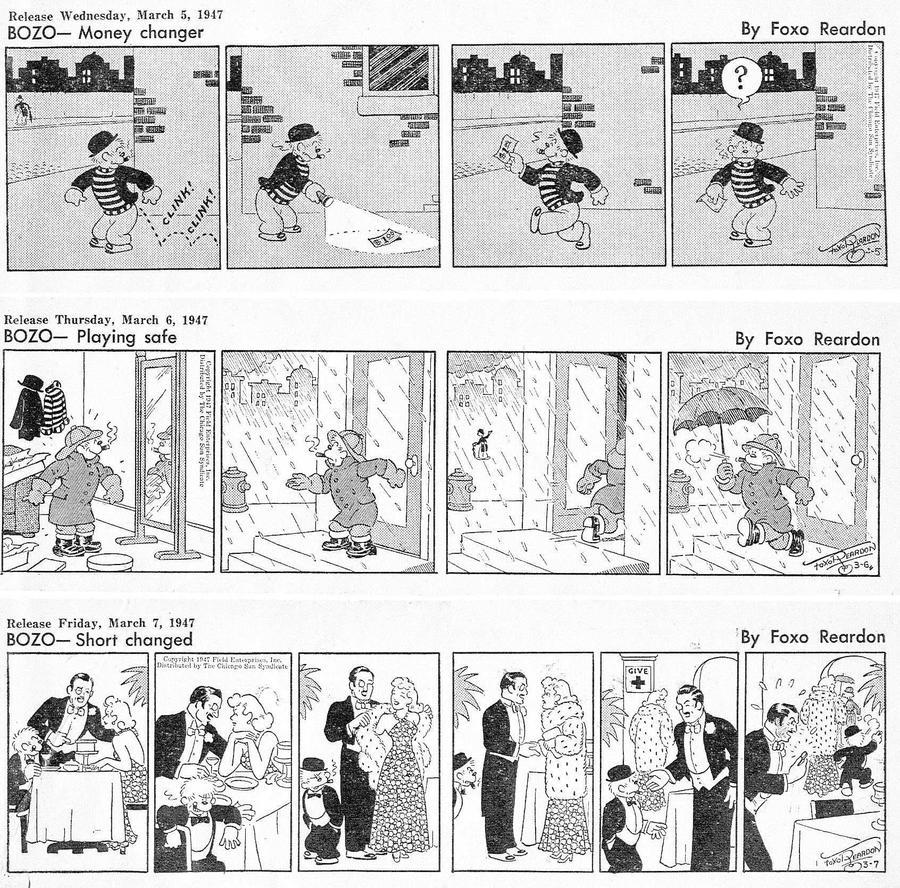 Bozo Comic Strip for May 05, 2021