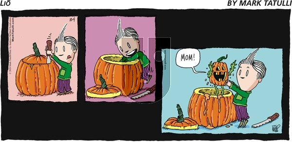 Lio on Sunday October 4, 2020 Comic Strip
