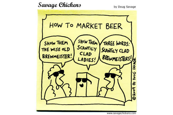 How to market beer