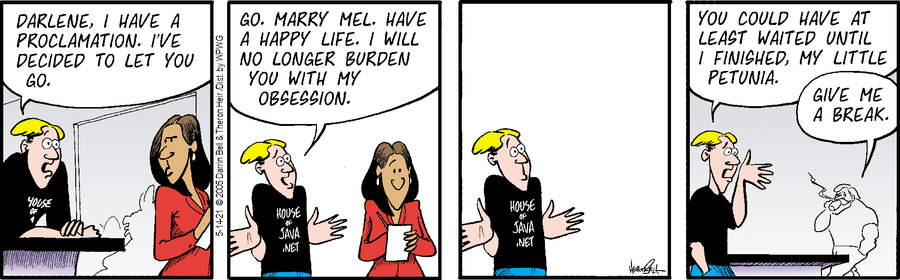 Rudy Park Comic Strip for May 14, 2021