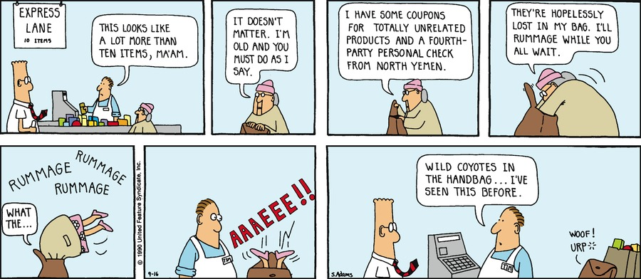Dilbert Classics Comic Strip for November 17, 2013