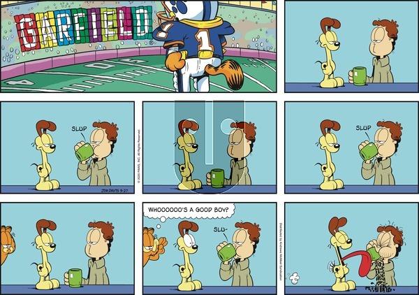 Garfield - Sunday September 27, 2020 Comic Strip