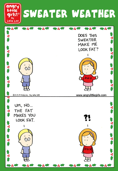 Angry Little Girls Comic Strip for December 02, 2019