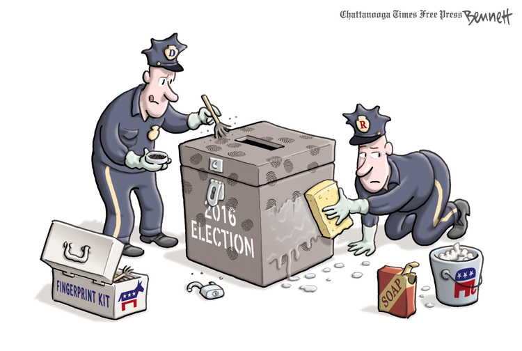 Clay Bennett Comic Strip for March 03, 2017