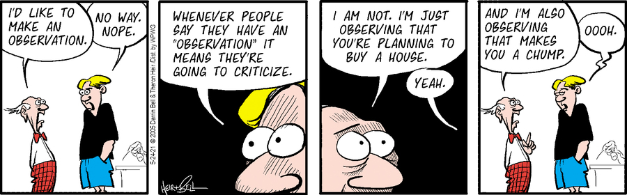 Rudy Park Comic Strip for May 24, 2021