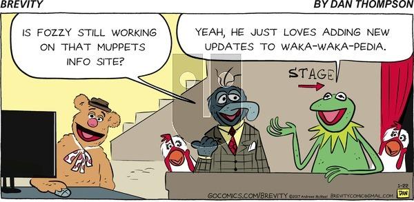 Brevity on Sunday January 22, 2017 Comic Strip