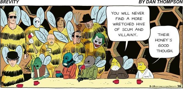 Brevity - Sunday August 18, 2019 Comic Strip
