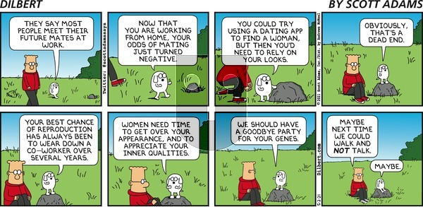Dilbert on Sunday May 2, 2021 Comic Strip