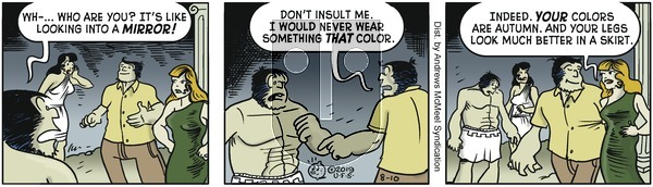 Alley Oop - Saturday August 10, 2019 Comic Strip