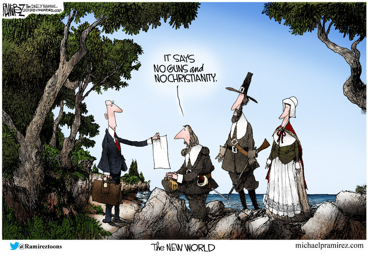 Michael Ramirez Comic Strip for November 29, 2019