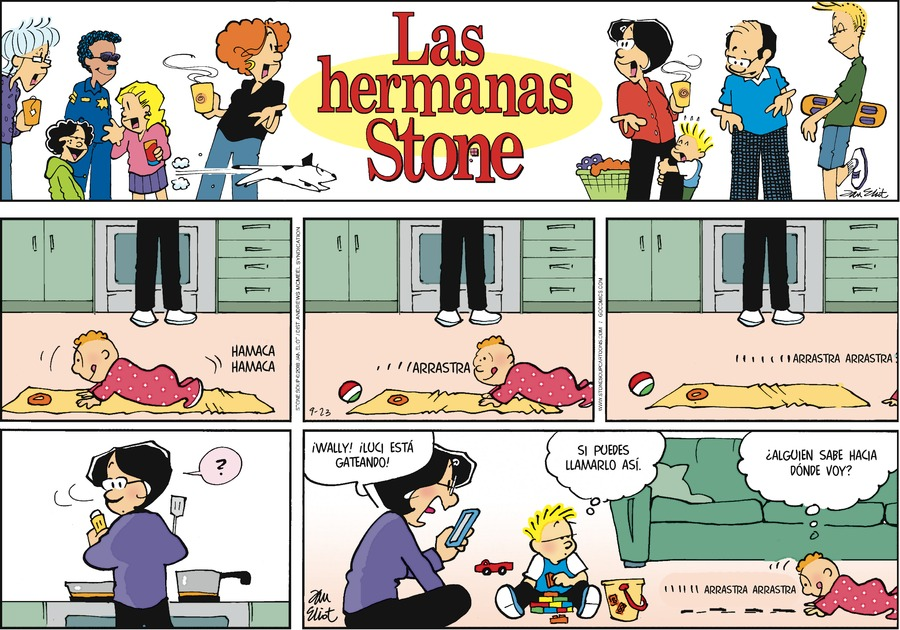 Las Hermanas Stone by Jan Eliot for September 23, 2018